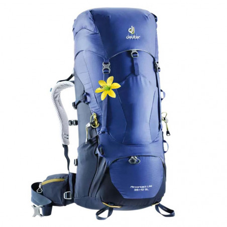 Deuter Aircontact Lite 35 + 10 SL azul indigo - Mochila de trekking