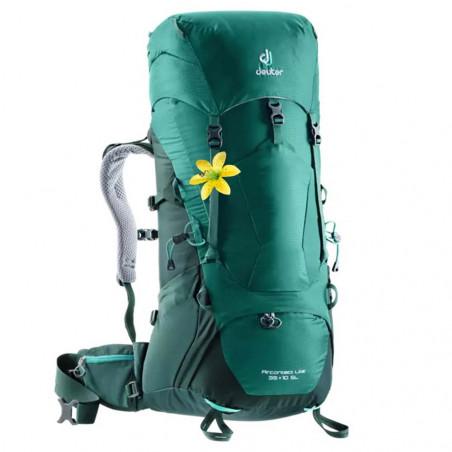 Deuter Aircontact Lite 35 + 10 SL verde forest - Mochila de trekking