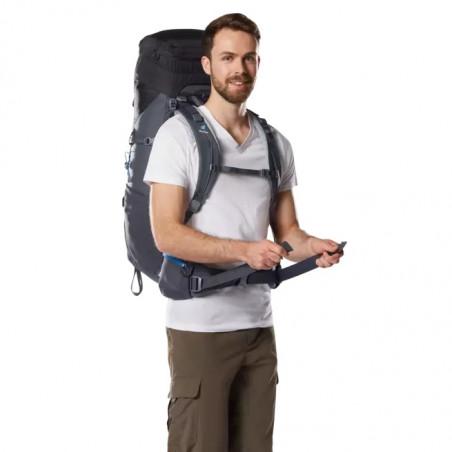 Mochila de trekking Deuter AIRCONTACT LITE 50 + 10 - negra