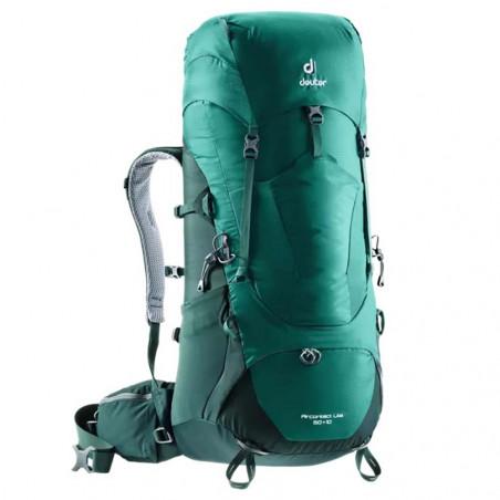 Mochila de trekking Deuter AIRCONTACT LITE 50 + 10 - verde forest