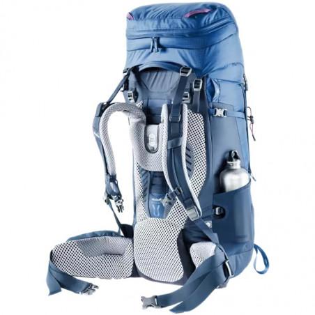 Mochila de trekking Deuter AIRCONTACT  50 + 10 SL - azul steel midnight