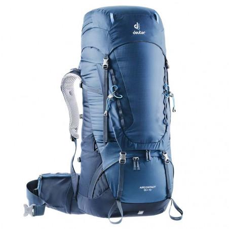 Mochila de trekking Deuter AIRCONTACT 55 + 10 - azul midnight navy