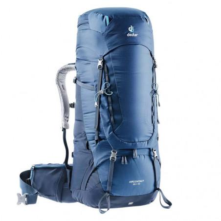 Deuter Aircontact 65 + 10 azul midnight navy - Mochila de trekking