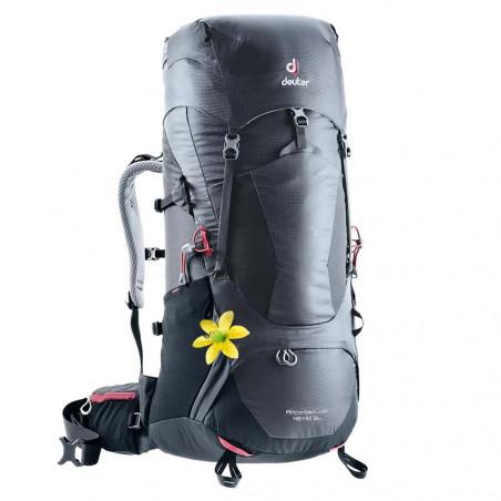 Deuter Aircontact Lite 45 + 10 SL negra - Mochila de trekking