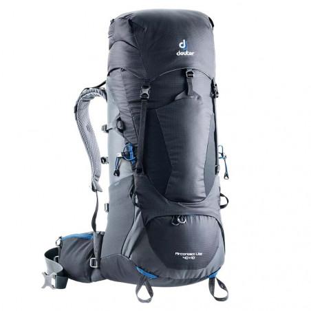 Mochila de trekking Deuter AIRCONTACT LITE 40 + 10 - negra