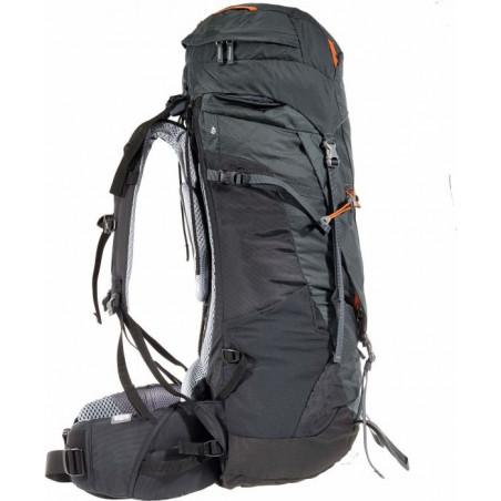 Mochila de trekking Deuter AIRCONTACT 55 + 10 - graphite-black