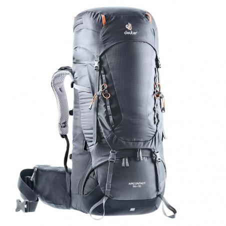 Mochila de trekking Deuter AIRCONTACT 55 + 10 - graphite black
