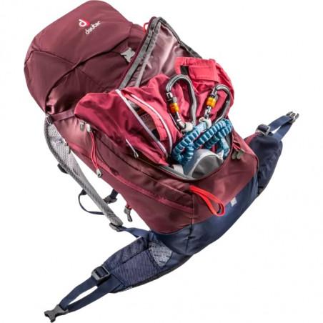 Mochila de trekking para mujer Deuter TRAIL 28 SL - maron navy