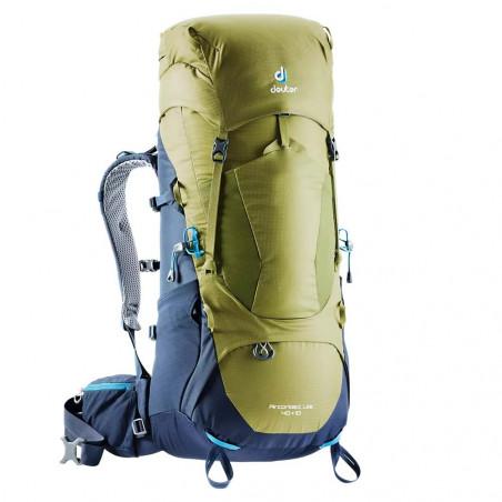 Mochila de trekking Deuter AIRCONTACT LITE 40 + 10 - moss-navy