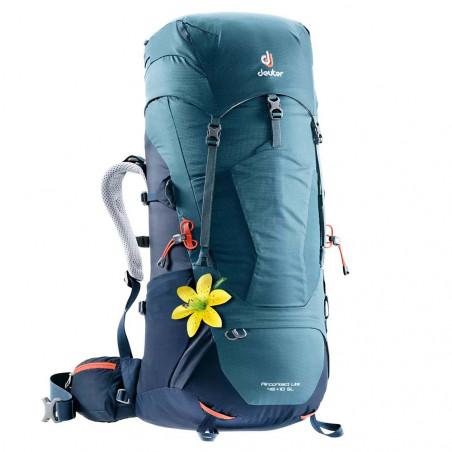 Mochila de trekking Deuter AIRCONTACT LITE 45 + 10 SL - azul artic - navy