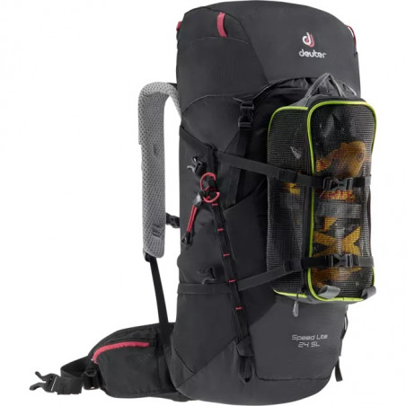 Mochila de trekking para mujer Deuter SPEED LITE 24 SL - black