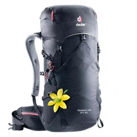 Mochila de trekking mujer Deuter SPEED LITE 24 SL - black