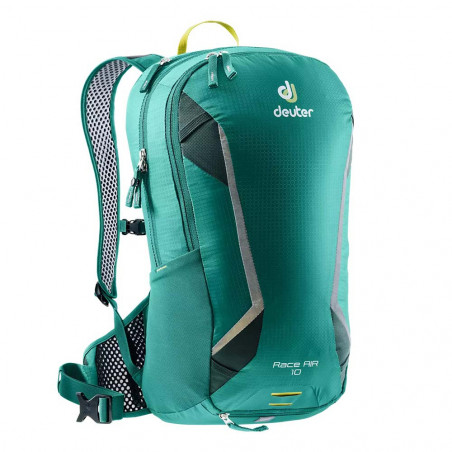 Mochila de ciclismo Deuter RACE AIR 10 - alpinegreen forest