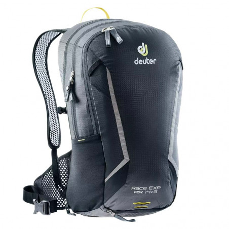 Deuter Race Exp Air 14 + 3 black - Mochila de ciclismo