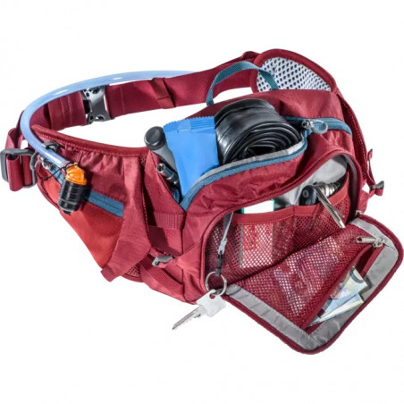 Riñonera Deuter portabotellas PULSE 3 - cranberry