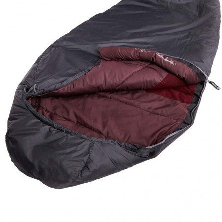Saco de dormir Deuter ORBIT +5º SL – granite aubergine