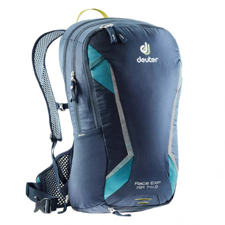 Deuter Race Exp Air 14 + 3 navy denim - Mochila de ciclismo