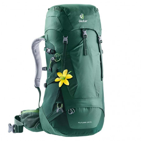 Mochila de trekking para mujer Deuter FUTURA 28 SL - seagreen forest