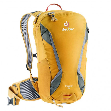 Deuter Race 8 curry ivy - Mochila de ciclismo