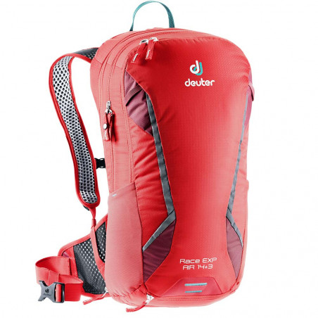 Mochila de ciclismo Deuter RACE EXP AIR 14 + 3 - chili cranberry