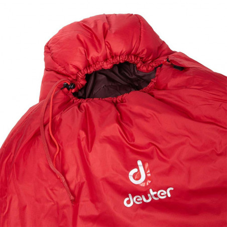 Saco de dormir para mujer Deuter ORBIT -5º SL – cranberry aubergine