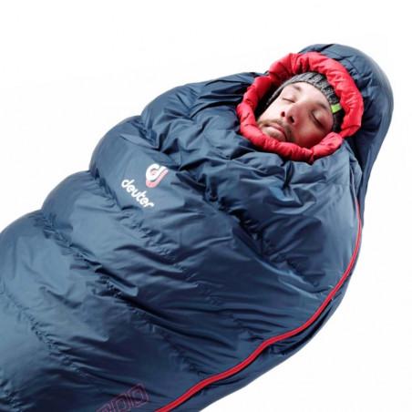 Saco de dormir Deuter ASTRO PRO 1000 -20º REG – granite