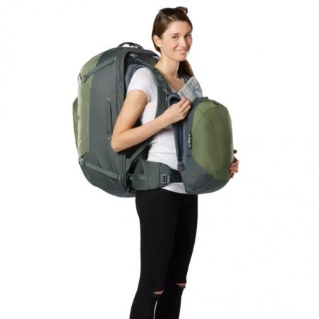 Mochila de viaje mujer Deuter AVIANT ACCESS PRO 60 - khaki ivy