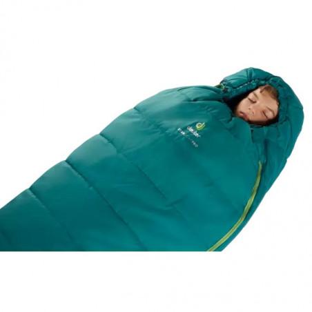 Saco de dormir Deuter STARLIGHT PRO alpinegreen navy - para niños