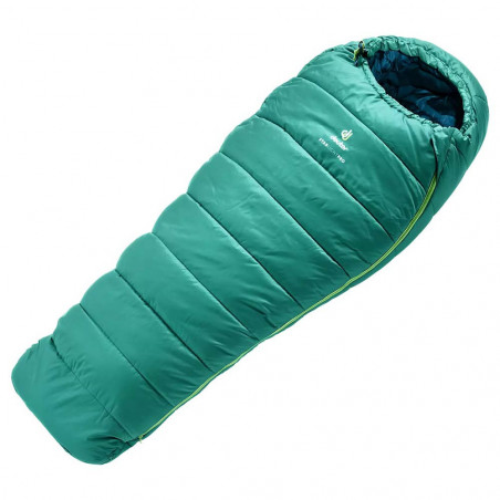 Deuter Starlight Pro alpinegreen navy -Saco de dormir para niños