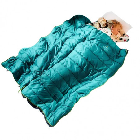 Saco de dormir Deuter STARLIGHT SQ petrol navy - para niños