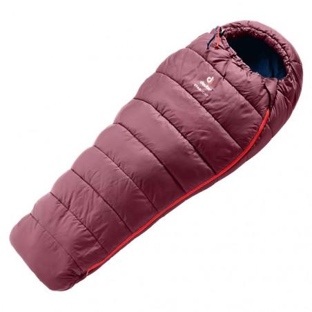 Deuter Starlight maron navy - Saco de dormir para niños