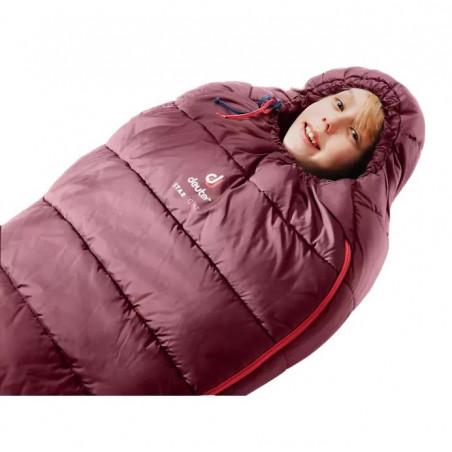 Saco de dormir Deuter STARLIGHT maron navy - para niños