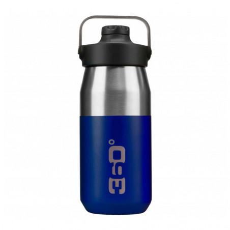 360 Degrees Tapón Magnético 550 ml azul - Botella termo