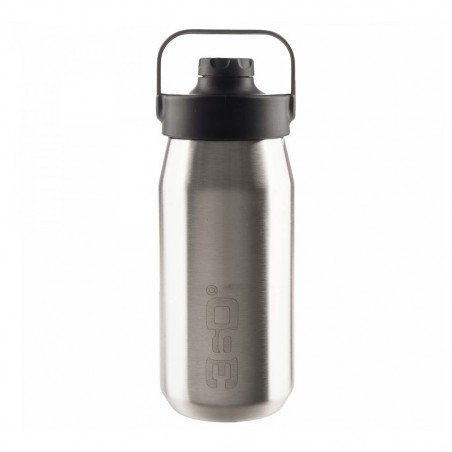 360 Degrees Tapón Magnético 550 ml plata - Botella termo