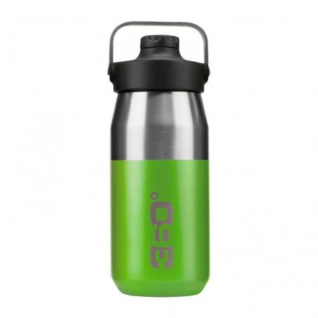 360 Degrees Tapón Magnético 550 ml verde - Botella termo