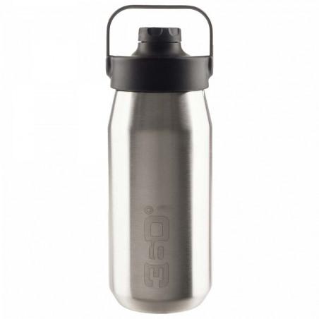 360 Degrees Tapón Magnético 1 Litro plata - Botella termo