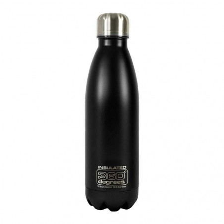 360 Degrees Soda aislado 550 ml negro - Botella termo