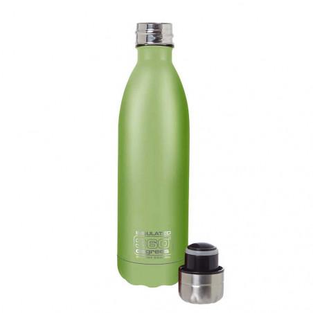 360 Degrees Soda aislado 750 ml verde - Botella termo
