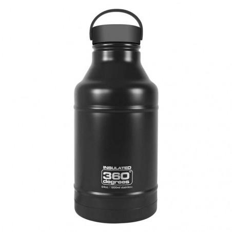 360 Degrees Growler 1,8 Litros negro - Botella termo
