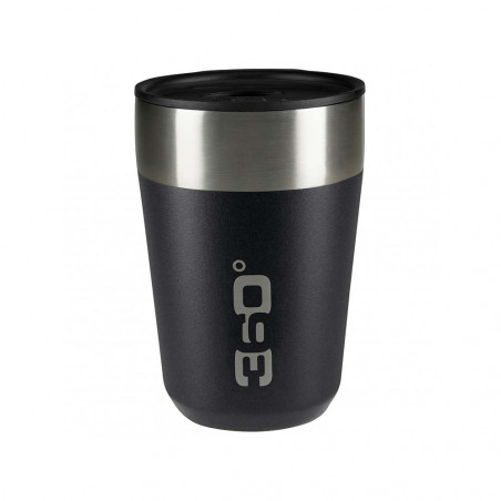 360 Degrees Taza Travel Mug Regular negro - Vaso termo