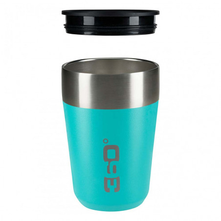 360 Degrees Taza Travel Mug Regular azul turquesa - Vaso termo