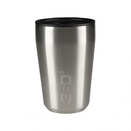 360 Degrees Taza Travel Mug Regular plata - Vaso termo