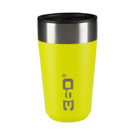 360 Degrees Taza Travel Mug Large lima - Vaso termo