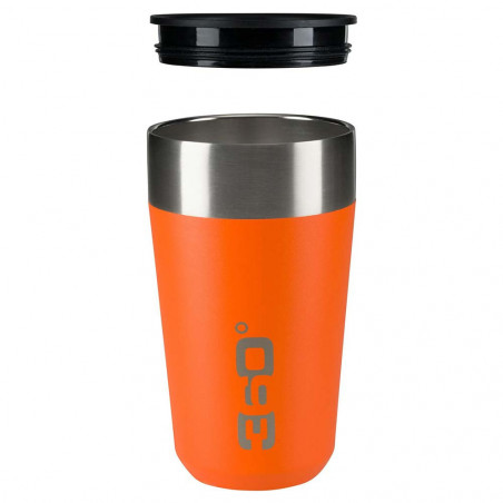 360 Degrees Taza Travel Mug Large calabaza - Vaso termo