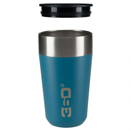 360 Degrees Taza Travel Mug Large azul - Vaso termo