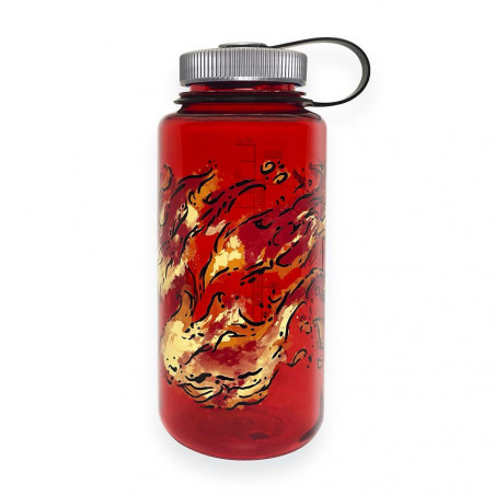 Nalgene Serie Elementos rojo Fuego 1 Litro – Botella cantimplora