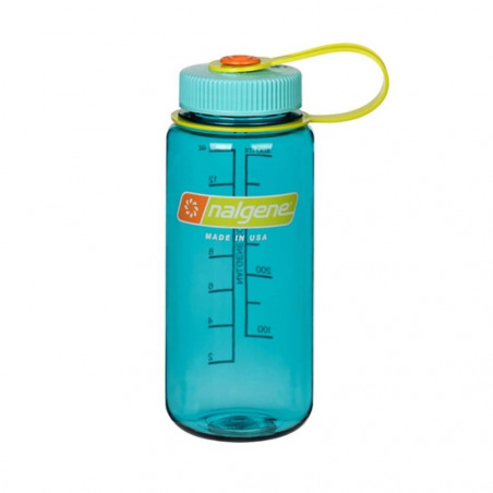 Nalgene Boca Ancha azul cerúleo 500 ml – Botella cantimplora