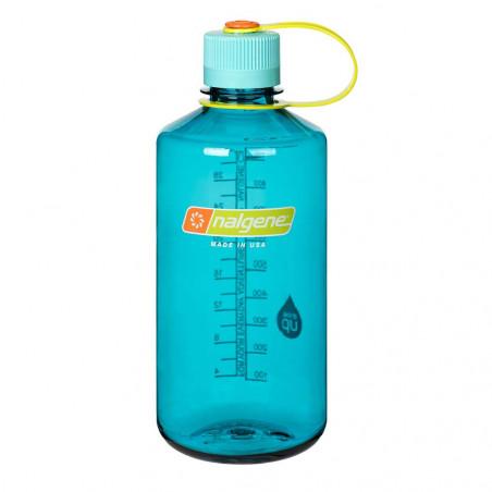 Nalgene Boca Estrecha azul cerúleo 1 Litro – Botella cantimplora