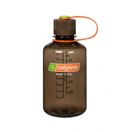 Nalgene Boca Estrecha marrón 500 ml – Botella cantimplora