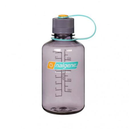 Nalgene Boca Estrecha berenjena 500 ml – Botella cantimplora